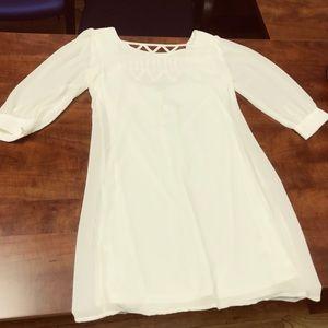 Cream Dress NWT